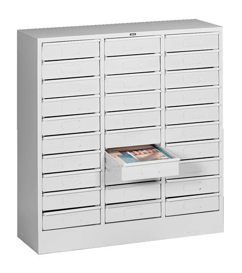 Tennsco Steel Storage Cabinets by Tennsco 30 Drawer Organizers