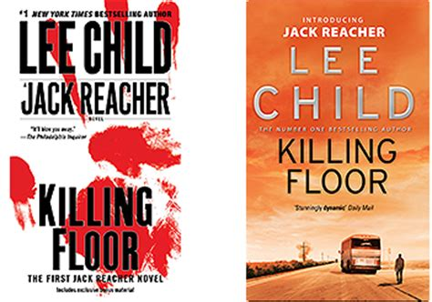 reacher killing floor author child reacher novels