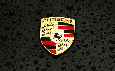 ax porsche logo emblem car illustration art dark wallpaper