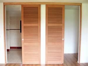 Fabriquer Porte Coulissante Placard : fabriquer persienne bois jj13 jornalagora ~ Premium-room.com Idées de Décoration
