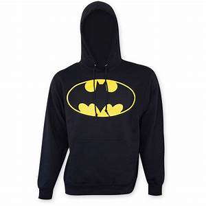Batman Men39s Bat Signal Hooded Sweatshirt