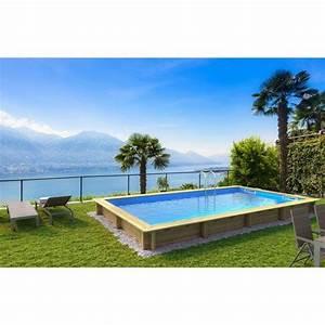 Piscine hors sol bois weva procopi rectangulaire 35x6 for Piscine hors sol bois rectangulaire 3m 13 piscine hors sol 6mx3m