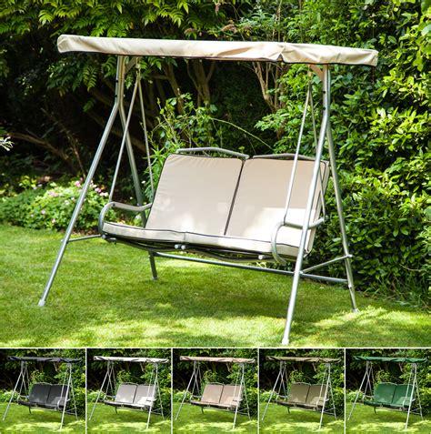 garden hammock swing replacement canopy cushions for argos malibu 2 seater