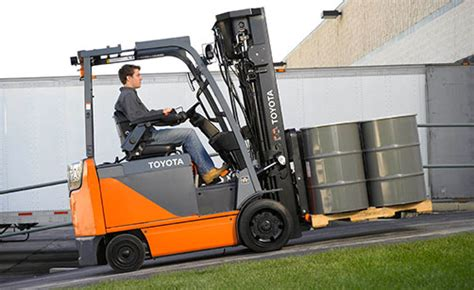 spill toyota forklifts