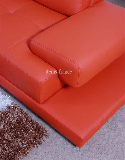 canapé 5 place canapé d 39 angle cuir stanley canapé contemporain d
