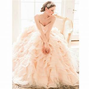 2015 new arrival luxury v neck blush pink colored wedding With blush colored wedding dress
