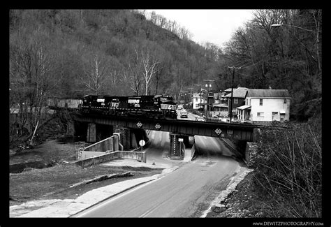 Norfolk Southern Across the Pokey in Southern West Virginia