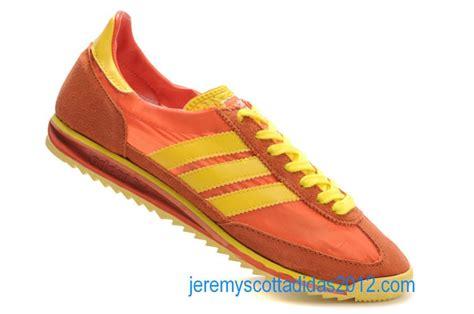 orange mens shoes adidas sl 72 vintage 1972 mens orange blaze chrome yellow