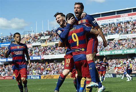Barcelona are Spanish La Liga champions