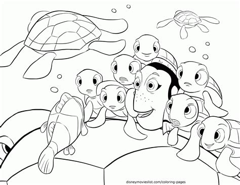 coloring pages finding nemo coloring home