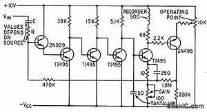 Bandpass Amplifier Drives Recorder