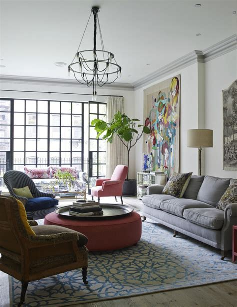 Townhouse In Traditional Avant Garde Decor   Decoholic