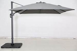Jardiland Parasol Déporté : parasol carr new roma gris jardiland ~ Premium-room.com Idées de Décoration