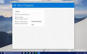 Windows 10 build 10036 includes update to Insider Hub for stat tracking - Neowin