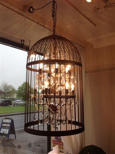 Curtains With Wooden Blinds by Bird Cage Chandelier Light Hampton Court Interiors