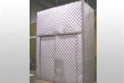 Barrier Drapes - quilted absorber barrier curtain panels for noise