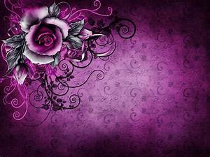 vintage grunge rose paper wallpaper purple floral texture ...