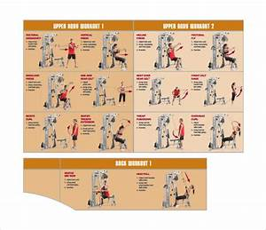 Free 9  Sample Workout Chart Templates In Pdf