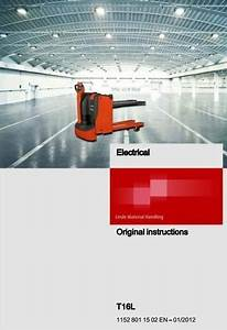Linde Electric Pallet Truck Type 1152  T16l Operating