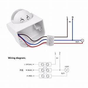 Motion Sensor Wiring Diagram