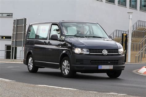 Volkswagen Hybrid 2020 by Spyshots 2020 Volkswagen T7 Mule Might Be A In
