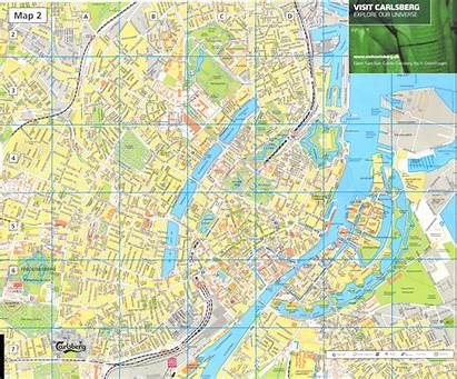Copenhagen Map Detailed Road Denmark Maps Mapa