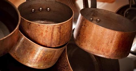 safe  cook  copper pots livestrongcom