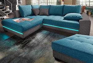 Sofa Mit Led Und Soundsystem : polsterecke mit beleuchtung wahlweise mit bluetooth soundsystem online kaufen otto ~ Indierocktalk.com Haus und Dekorationen
