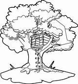 Coloring Treehouse Ausmalbilder Boomhutten Draw Tree Baumhaus Alberi Magic Disegni Casetta Albero Kleurplaten Pourfemme Kleurplaat Malvorlage Colorare Stampare Mamma Degli sketch template