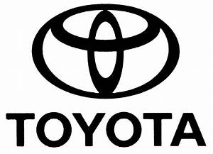 Toyota Logo Black - image #224