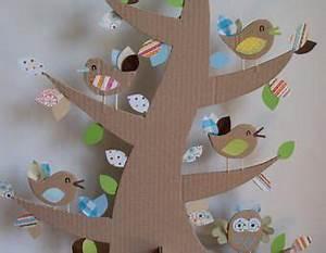 Objet En Carton Facile A Faire : diy faire un arbre d co 100 r cup diy objet en carton d co chambre d 39 enfant activites ~ Melissatoandfro.com Idées de Décoration