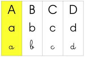 si e e 3 lettres l 39 alphabet affichage en classe in my classroom