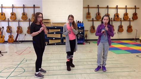 Ode To Joy On Recorder