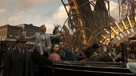 finley hobbins dumbo colin farrell saves a flying elephant in the trailer for