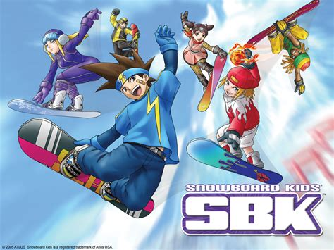 atlus usa presents sbk snowboard kids