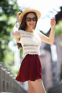 Cute Skater Skirts Outfits -20 Ways to Wear Skater Skirts ...