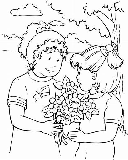 Coloring Forgiveness Pages Others Forgiving Clipart Forgive