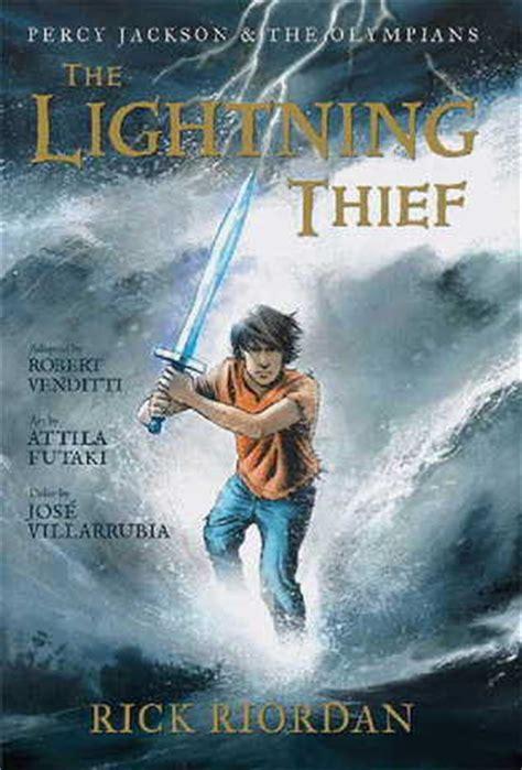 lightning thief  graphic  percy jackson