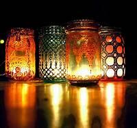 mason jar lantern Boho Hanging Lantern Brilliant Light Aqua Mason Jar Candle