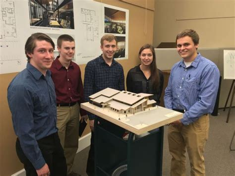 architecture student help msu architecture students help montana towns solve real problems montana state university