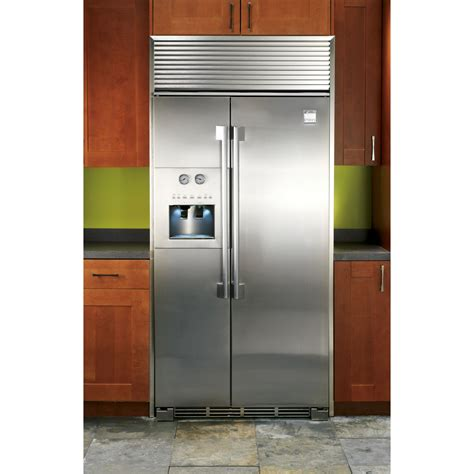 Counter Depth Refrigerator Dimensions Sears by Kenmore Pro 23 1 Cu Ft Counter Depth Side By Side