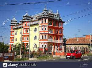 Gypsy house of rich wealthy Roma, Rroms family in ...
