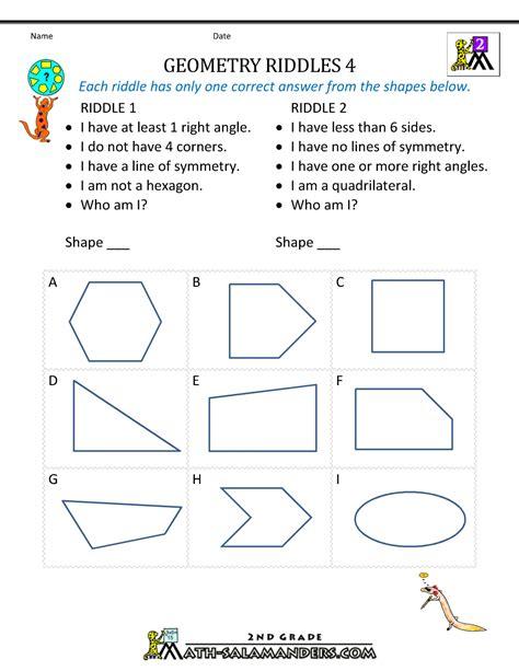 Grade 4 Math Worksheets Geometry  Coffemix  Fevi  Math Worksheets, 4th Grade Math, 1st Grade