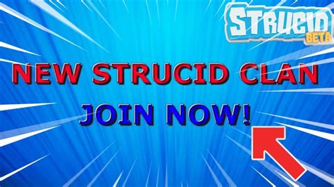 strucid clan join  youtube