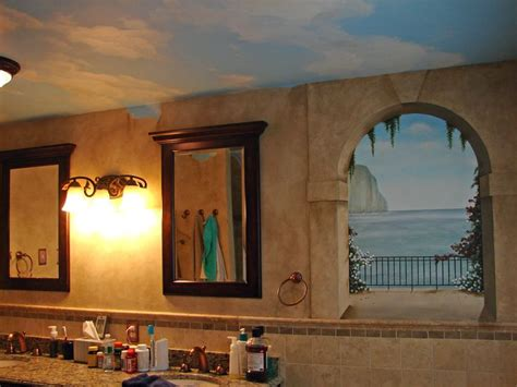 Faux Painting Ideas For Bathroom by Best 25 Faux Painted Walls Ideas On Faux