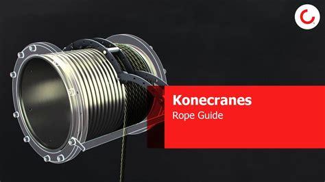 Konecranes Rope Guide - YouTube