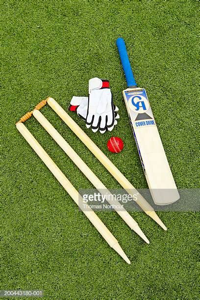 Cricket Images Cricket Bat Stock Photos And Pictures Getty Images