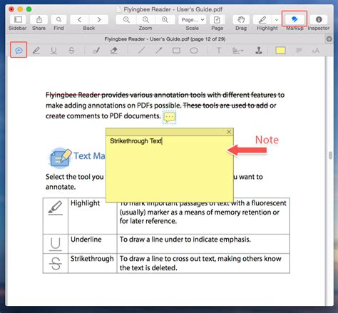 text decoration strikethrough color how to strikethrough text in pdf file with flyingbee