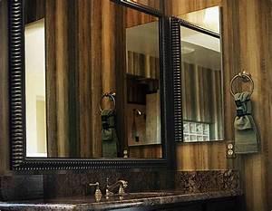 Modern Black Frame Mirror For Trendy Looks