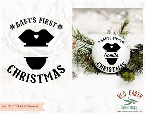 baby st svg st baby christmas st baby christmas svg baby bauble decal baby ornament svg